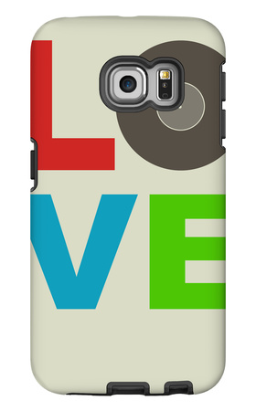 Love Poster Galaxy S6 Edge Case by  NaxArt