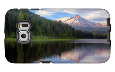 Mount Hood from Trillium Lake, Oregon Galaxy S6 Edge Case by Vincent James