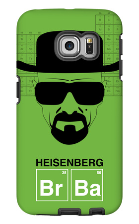 Heisenberg Poster Galaxy S6 Edge Case by  NaxArt