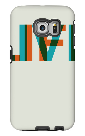 Live Life Poster 2 Galaxy S6 Edge Case by  NaxArt