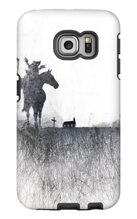 Death rides a horse Galaxy S6 Edge Case by Alex Cherry
