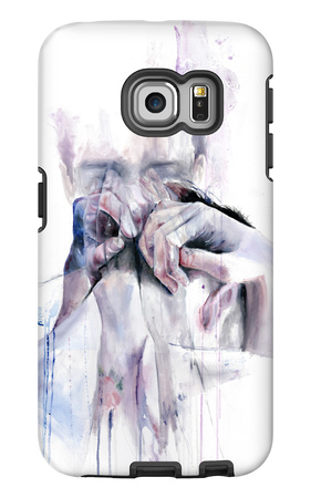 Gestures Galaxy S6 Edge Case by Agnes Cecile