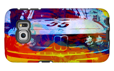 Bmw Racing Watercolor Galaxy S6 Edge Case by  NaxArt