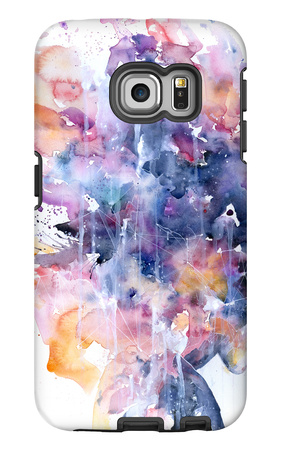 In A Single Moment All Her Greatness Collapsed Galaxy S6 Edge Case by Agnes Cecile