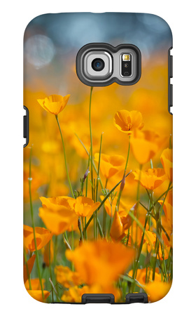 Riverside Poppies Galaxy S6 Edge Case by Vincent James