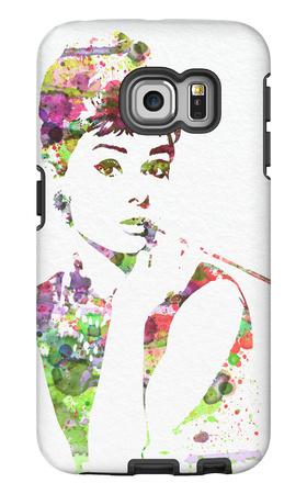 Audrey Hepburn 2 Galaxy S6 Edge Case by  NaxArt