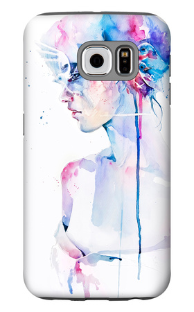 2 + 2 = 5 Galaxy S6 Case by Agnes Cecile
