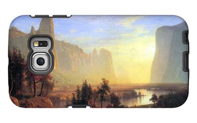 Yosemite Valley Galaxy S6 Edge Case by Albert Bierstadt