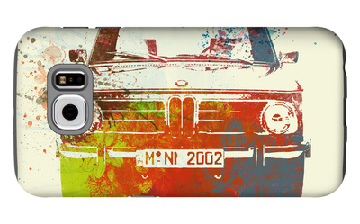 Bmw 2002 Front Watercolor 2 Galaxy S6 Case by  NaxArt