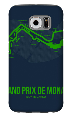 Monaco Grand Prix 2 Galaxy S6 Case by  NaxArt