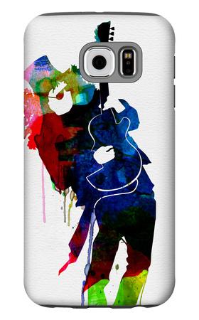 Slash Watercolor Galaxy S6 Case by Lora Feldman