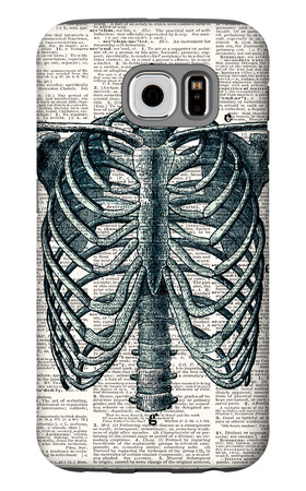 Vintage Anatomy Study Galaxy S6 Case by Christopher James
