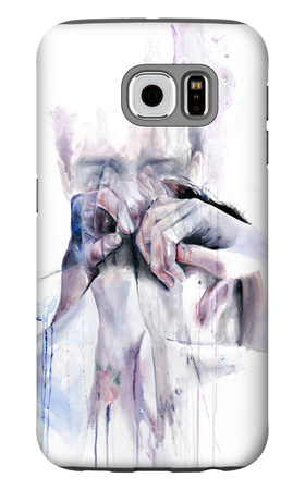 Gestures Galaxy S6 Case by Agnes Cecile