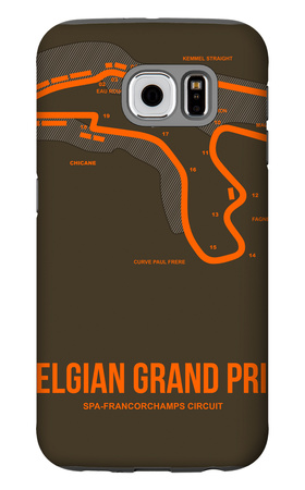 Belgian Grand Prix 1 Galaxy S6 Case by  NaxArt