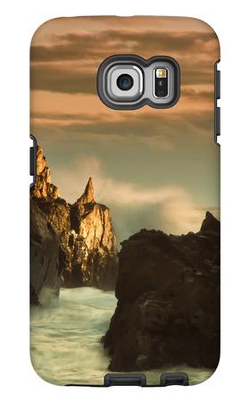 Light Splash at Big Sur Galaxy S6 Edge Case by Vincent James