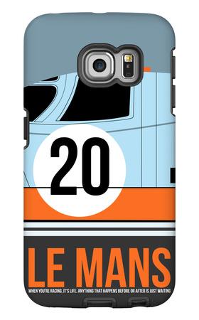 Le Mans Poster 2 Galaxy S6 Edge Case by Anna Malkin