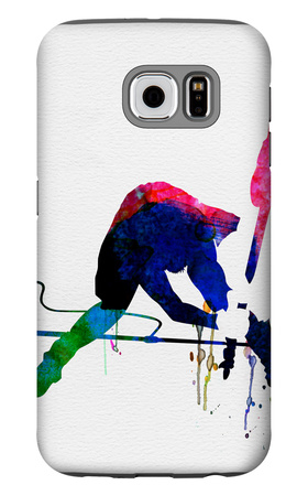 Joe Watercolor Galaxy S6 Case by Lora Feldman