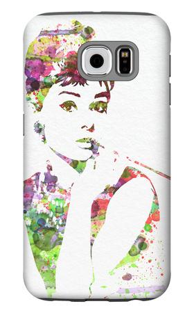 Audrey Hepburn 2 Galaxy S6 Case by  NaxArt