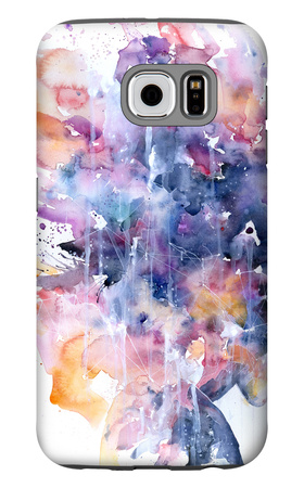 In A Single Moment All Her Greatness Collapsed Galaxy S6 Case by Agnes Cecile