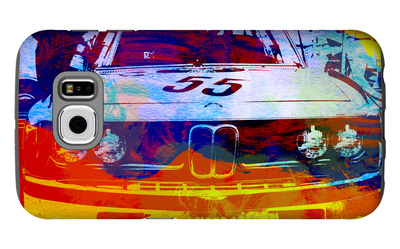 Bmw Racing Watercolor Galaxy S6 Case by  NaxArt