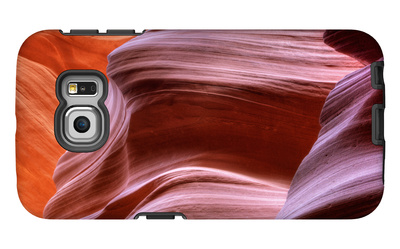 Antelope Canyon Abstract - Tri Color Galaxy S6 Edge Case by Vincent James