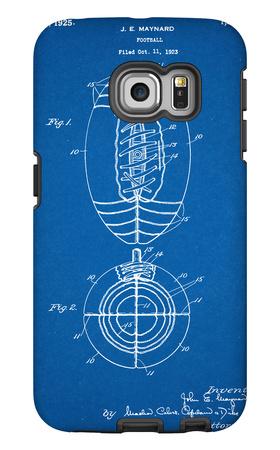 Football Patent 1923 Galaxy S6 Edge Case