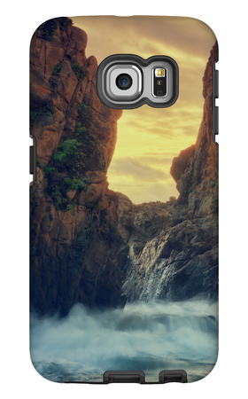 Cove Drama, Big Sur Galaxy S6 Edge Case by Vincent James