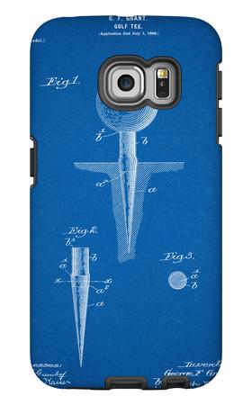 Golf Tee Patent Galaxy S6 Edge Case