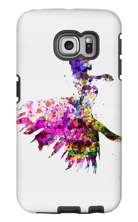 Ballerina on Stage Watercolor 4 Galaxy S6 Edge Case by Irina March