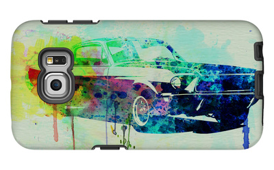 Ford Mustang Watercolor 2 Galaxy S6 Edge Case by  NaxArt