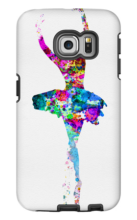Ballerina Watercolor 1 Galaxy S6 Edge Case by Irina March