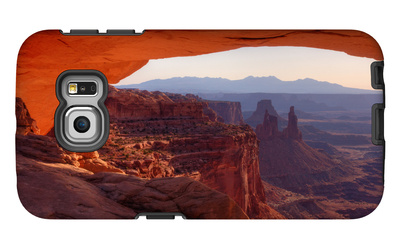 Morning at Mesa Arch, Canyonlands Galaxy S6 Edge Case by Vincent James