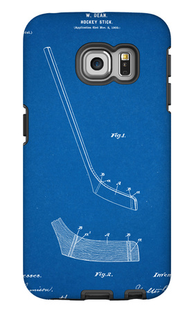 Hockey Stick Patent Galaxy S6 Edge Case