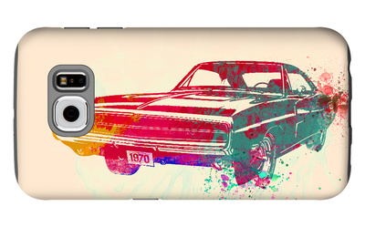 1967 Dodge Charger 1 Galaxy S6 Case by  NaxArt