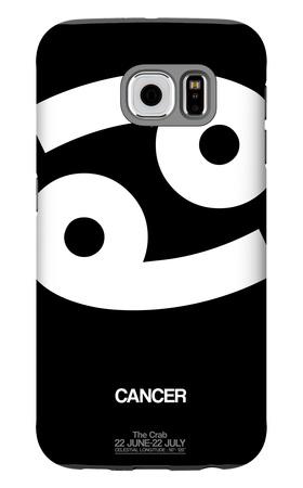 Cancer Zodiac Sign White Galaxy S6 Case by  NaxArt