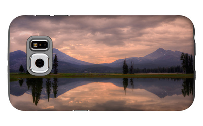 Pre Dawn in the Central Cascades Galaxy S6 Case by Vincent James