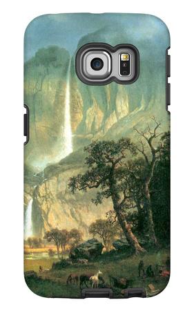 Cho-looke, the Yosemite Fall Galaxy S6 Edge Case by Albert Bierstadt