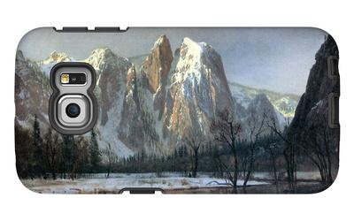 Cathedral Rocks, Yosemite Galaxy S6 Edge Case by Albert Bierstadt