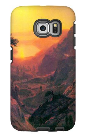 Donner Lake Galaxy S6 Edge Case by Albert Bierstadt