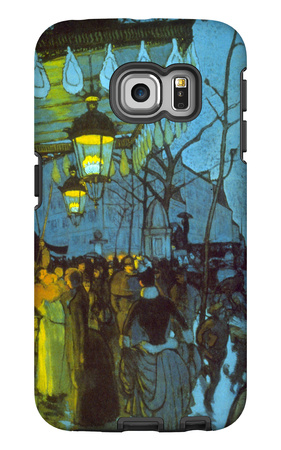 Avenue De Clichy Galaxy S6 Edge Case by Louis Anquetin