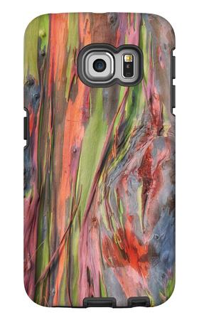 Rainbow Eucalyptus Detail, Kauai Galaxy S6 Edge Case by Vincent James