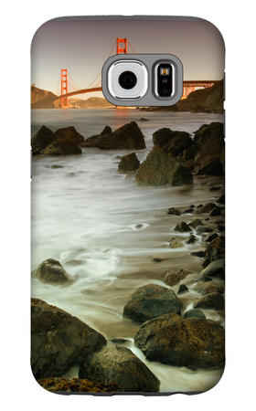 Baker Beach and the Golden Gate Bridge Galaxy S6 Case by Vincent James