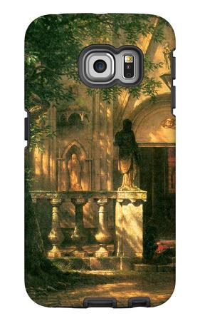 Sunlight and Shadow Galaxy S6 Edge Case by Albert Bierstadt