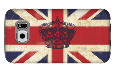 Royal Union Jack Galaxy S6 Case by Sam Appleman