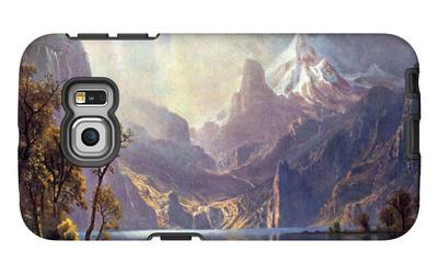 Lake Tahoe Galaxy S6 Edge Case by Albert Bierstadt