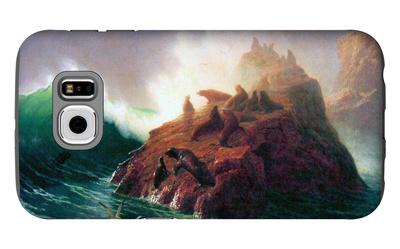 Seal Rock, California Galaxy S6 Case by Albert Bierstadt