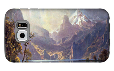 Lake Tahoe Galaxy S6 Case by Albert Bierstadt