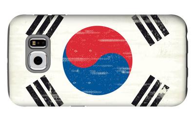 South Korea Grunge Flag. A Flag South Korea With A Texture Galaxy S6 Case by  TINTIN75