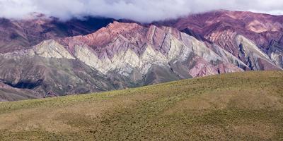 Coloured Mountains, Salta District, Argentina Photographic Print by Peter Groenendijk
