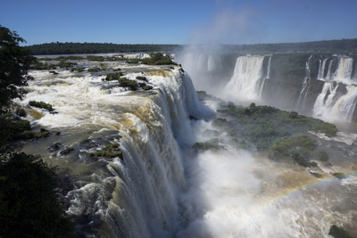 Iguacu Falls, Iguacu National Park, Brazil Photographic Print by Peter Groenendijk